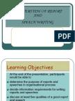 Overview Report Speech Writing