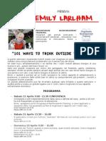 Programma Emily Larlham