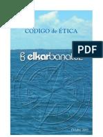 Código de ética de la Asociación Elkarbanatuz
