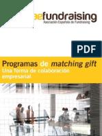 Programas de Matching Gift, una forma de colaboración entre ONG y personal de empresas