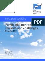 Family Philanthropy