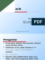 Materi 3 - Array Atau Larik