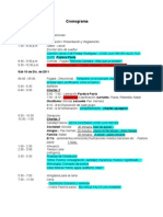 Planeación Campamento MAI 2011
