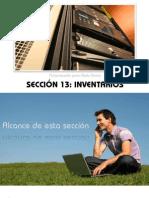 Sección 13 Inventarios Slide Share