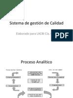 Sistema de gestión de Calidad presentacion