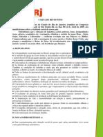 Carta de Rio Bonito - JA 2009 JUBERJ