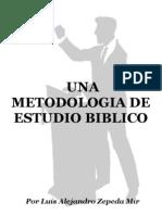 Una Metodologia de Estudio Biblico
