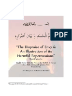 A Khutbha on the Dispraise of Envy and an Illustration of Its Harmful Repercussions
