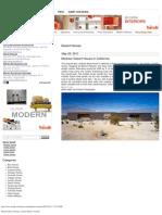 Modern House Designs - Desert Homes _ Trendir