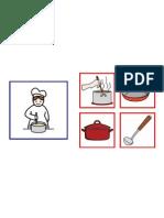 oficio cocinera