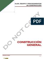Materiales,Equpo y Procedimientos de Construccion