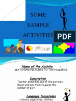English Learning Activities
