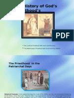 A History of God's Priesthood's