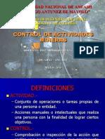Control de Actividades Mineras-ut1