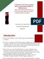 coca cola business analysis