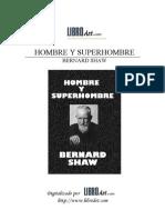 Shaw Bernard - Hombre Y Super Hombre