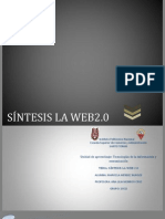 SÍNTESIS LA WEB2.0-TRABAJO INTEGRADOR FINAL