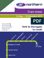 20110522 Northern Timetable 29