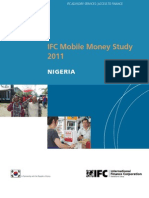 IFC Mobile Money Study 2011 - Nigeria