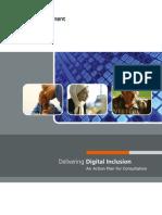 Delivering Digital Inclusion - HMG
