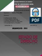 Estado de Derecho--realidad Peruana