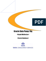 Benefits of Oracle DataPump 10g