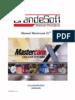 Manual - Mastercam x2