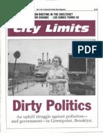 City Limits Magazine, November 1992 Issue