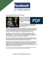 Facebook Teacher Spotlight