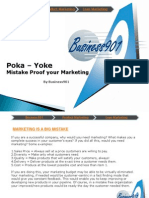 POKA-YOKE in Marketing