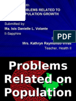Problems Related on Population Growth