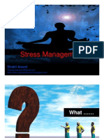 Stress Management by Shakti Anand