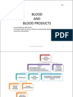 Blood and Blood Products
