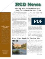 Spring 2008 Kings River Conservation District Newsletter