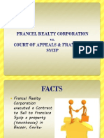 Francel Realty Corporation vs. Sycip
