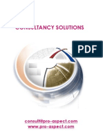 Consultancy Solutions 2012
