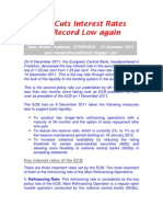 ECB Cuts Interest Rates to Record Low Again-VRK100-10Dec2011