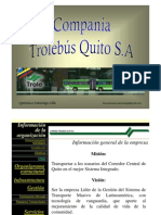 "Presentación ""Compañia TroleBús Quito"""