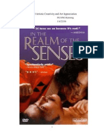 Feminism in Japanese Movie the Realm of the Senses