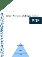 Alcohol y Drogas en Adolescencia