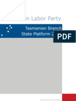 State Platform 2009