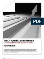 Self Rating A Business