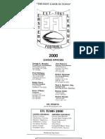 2000.EFL Annual Program