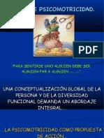 NOTAS DE PSICOMOTRICIDAD