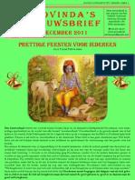 Govinda's_e-Nieuwsbrief_2011_12