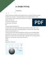 Cara Membaca Jangkasorong Dan Mikrometer Skkrup