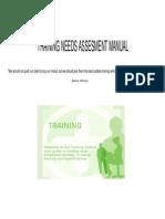 Training Needs Assesment Manual