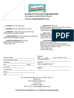 BTF Revised Membership Form 4.2009