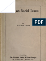 Sutton Elbert Griggs--Light on Racial Issues ([c1921])