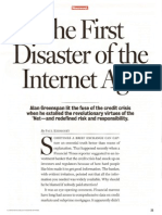 Newsweek - The First Disaster of the Internet Age